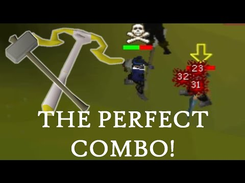 Armadyl Crossbow Pking - TOO OVERPOWERED COMBO - OSRS 50 Attack Pure Pking Commentary #11