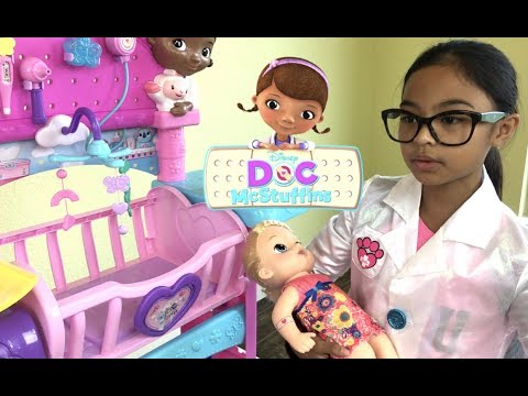 Video Disney Doc McStuffins Baby All In One Nursery Unboxing | Toys Academy download in MP3, 3GP, MP4, WEBM, AVI, FLV January 2017
