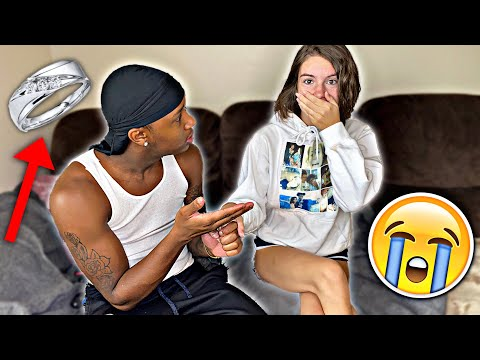 i FINALLY asked HER to be my GIRLFRIEND❤️💍**cute reaction🥰**