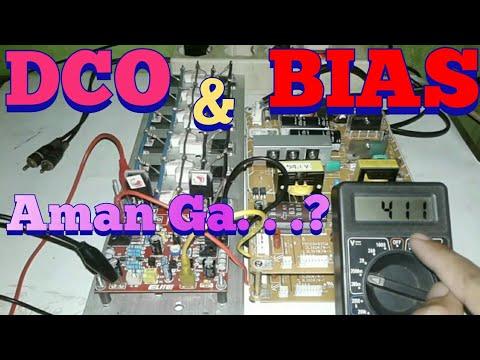 Cara cek DCO dan BIAS power amplifier