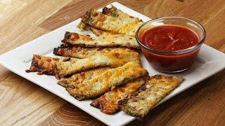 Cheesy Zucchini Sticks by Tasty