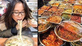 Video KOREAN STREET FOOD at Mangwon Market in Seoul MP3, 3GP, MP4, WEBM, AVI, FLV Juni 2019