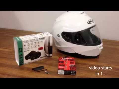 The Best Freedconn Intercom System Helmet Communication Bluetooth Install AUX wiring for Headphones