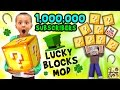 1 Million Subscribers Minecraft Lucky Block Mod Fgteev