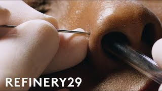 Video How To Get A Nose Piercing With Brian Keith Thompson Of Body Electric | Macro Beauty | Refinery29 MP3, 3GP, MP4, WEBM, AVI, FLV Oktober 2018