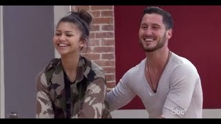 All of Val & Zendaya's Rehearsal Packages from DWTS