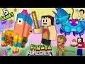 5 Pinata Games W Baby Shawn Minecraft Mini game W Warri