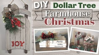 DIY Dollar Tree Christmas 2018 | DIY Dollar Tree Farmhouse Christmas Decor | KraftsbyKatelyn