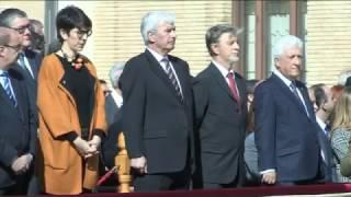 S.M. el Rey preside el acto de conmemoración de los 75 años de la Academia General Militar