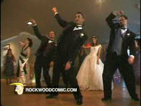 THRILLER - The original! Our entire wedding party does the Thriller dance at our reception. You can drop us a line or ask any questions at the Rockwood site ( http://ww...