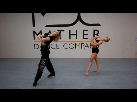 Контемп: танцевальная база. Обучающее видео.
