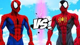 Video SPIDER-MAN VS SPIDERMAN PHOENIX SUIT - EPIC BATTLE MP3, 3GP, MP4, WEBM, AVI, FLV Desember 2018