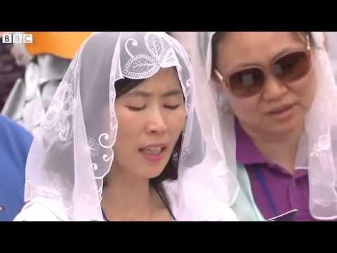 BBC News   Pope Francis to beatify South Korean Catholic martyrs