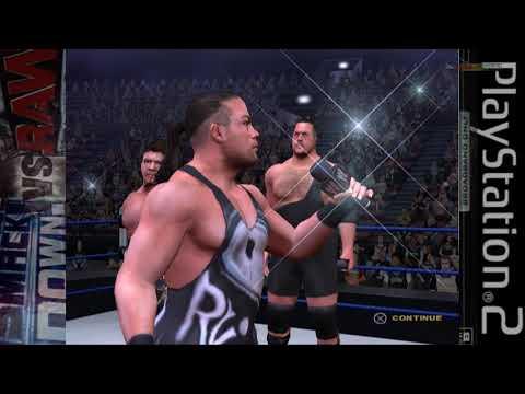 WWE SmackDown Vs RAW 2004 2005 PS2 Season mode as Eddie Guerrero WrestleMania Final pt8