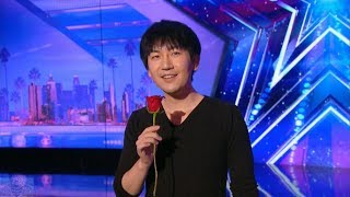 Download Video America's Got Talent 2017 Visualist Will Tsai Unbelievable Sleight of Hand Full Audition S12E01 MP3 3GP MP4