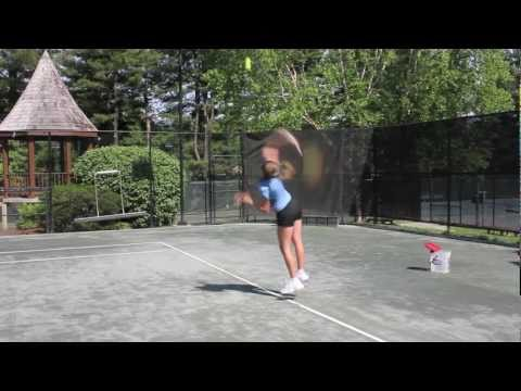 How to Hit a Tennis Serve/ACE