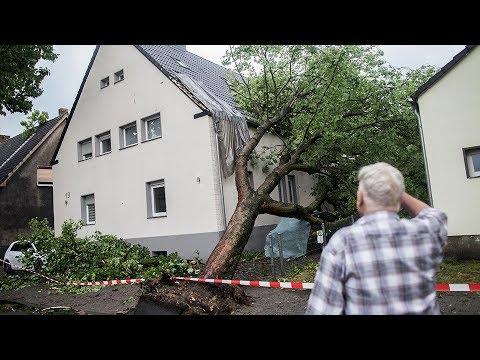 Unwetter wüten im Ruhrgebiet (15.06.2017)