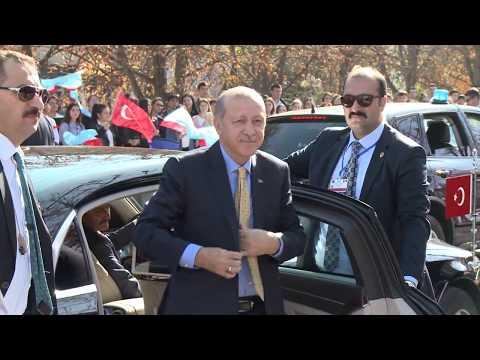 Igor Dodon și Recep Tayyip Erdoğan au efectuat o vizită în Găgăuzia