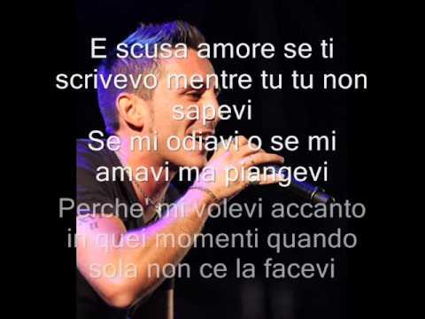, title : 'Modà - Scusa Amore con Testo'