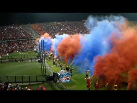 MEDELLIN 0 vs itagui 0  Liga postobon II  Cuadrangulares finales Fecha # 1   Nov-17-2012 - Rexixtenxia Norte - Independiente Medellín