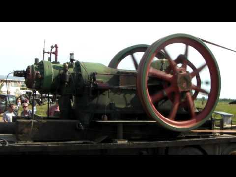 85Hp Bessemer Engine Running Sawmill