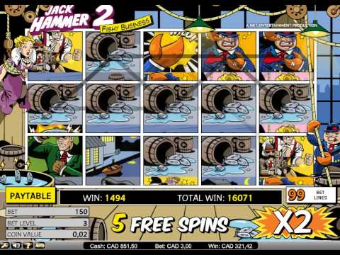 Jack Hammer 2 Slot Bonus Big Win