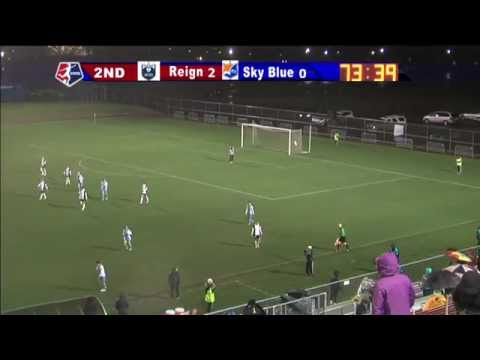 Sky Blue FC vs. Seattle Reign FC II - April 30, 2014 (видео)