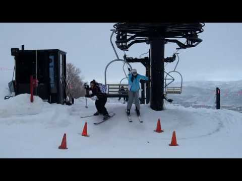funny skiing blooper montage