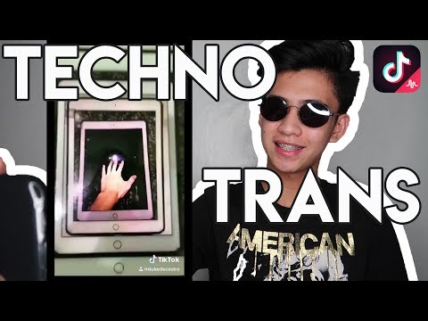TIKTOK TECHNO TRANSITION TUTORIAL | Duke De Castro