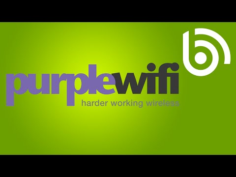 Purple WiFi for business WiFi
