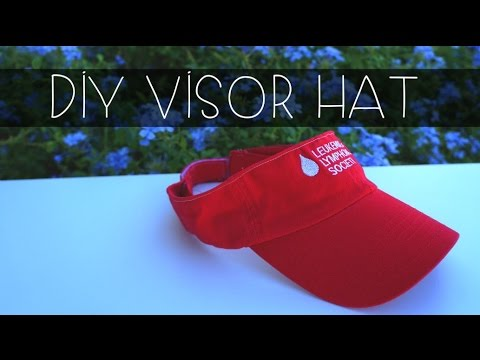 How To | Make a visor hat out of a baseball hat (Part 2)