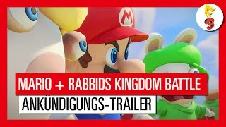 Mario + Rabbids: Kingdom Battle - E3 2017 Trailer