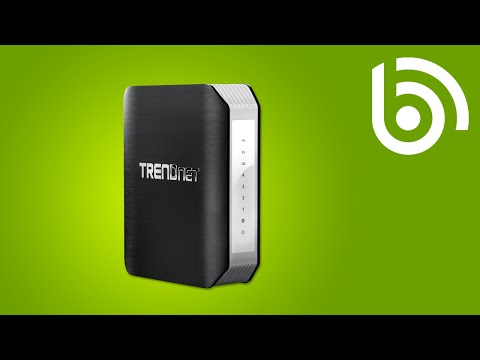 TRENDnet TEW-813DRU WiFi AC Router Introduction