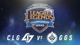 Video CLG vs. GGS - Week 6 Day 2 | NA LCS Spring Split | Counter Logic Gaming vs. Golden Guardians (2018) MP3, 3GP, MP4, WEBM, AVI, FLV Juni 2018