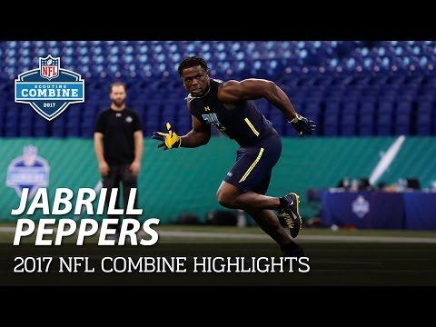 Jabrill Peppers (Michigan, LB/DB) | 2017 NFL Combine Highlights - Thời lượng: 4:28.