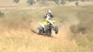 6. 2009 Suzuki QuadSport Z400   ATV First Ride