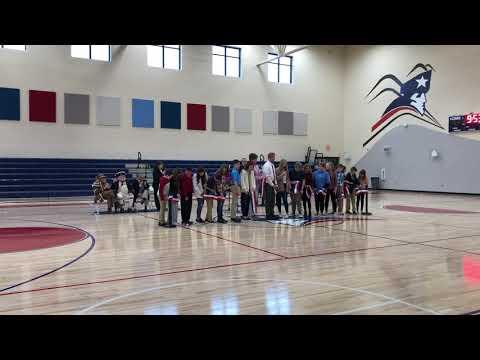 Video: Sullivan East Middle School ribbon cutting Feb. 18, 2020