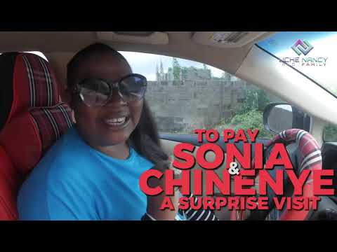 UCHE NANCY PAID SONIA & CHINENYE A SURPRISE VISIT AT THEIR LOCATION. WATCH TO SEE THEIR REACTION