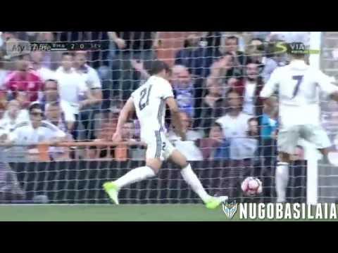 Real Madrid Vs Sevilla 4-1   All Goals Highlights  14.05.2017