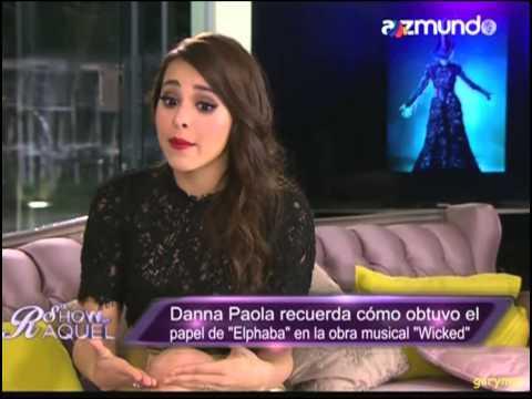 Danna Paola en El show de Raquel - Parte 3