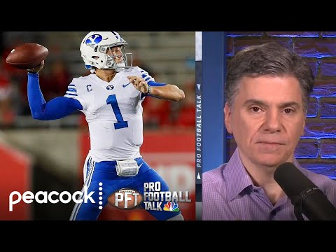 Chris Simms reveals his 2021 NFL Draft QB rankings | Pro Football Talk | NBC Sports
