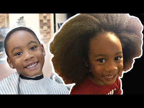 5 year olds FIRST HAIRCUT EVER MUST SEE  HD  EPIC TRANSFORMATION