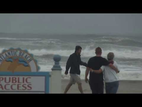 Hurricane Irene &#8211; Atlantic Beach, NC &#8211; Havelock, Morehead City, Beaufort
