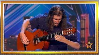 La sensibilidad de este guitarrista hace llorar al jurado | Audiciones 2 | Got Talent España 2019