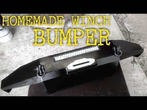 Homemade Winch Bumper for Ram 2500
