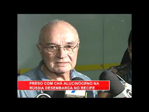 [RONDA GERAL] Professor preso com substância alucinígena na Rússia é trazido ao Recife pela PF