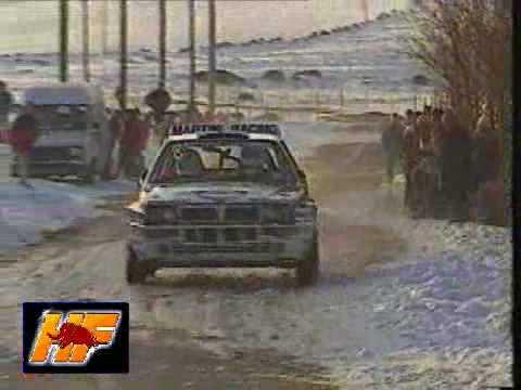 lancia delta rally montecarlo 1992