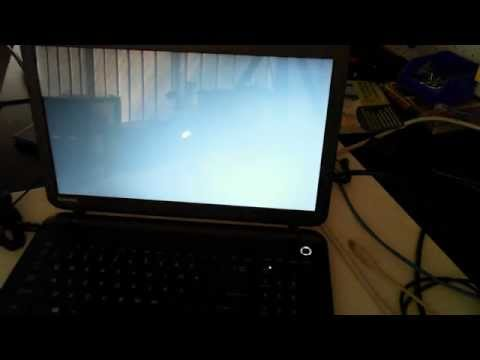 Toshiba Satellite Pro C50-B First Turn On
