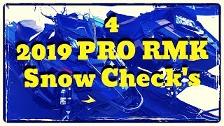 8. 2019 Polaris PRO RMK Snow Check Customs