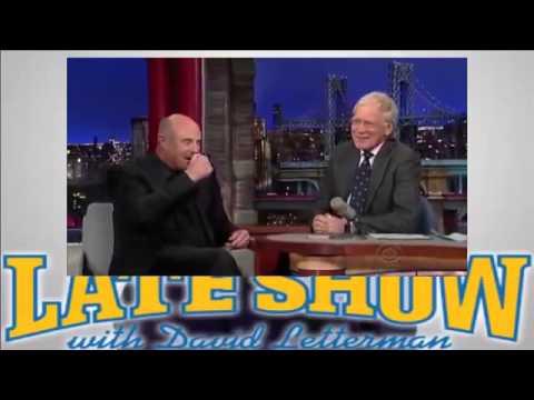 David Letterman 3 2 2015 Dr Phil McGraw HD